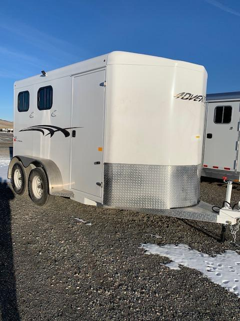 2019 Trails West Adventure II 2 Horse Trailer
