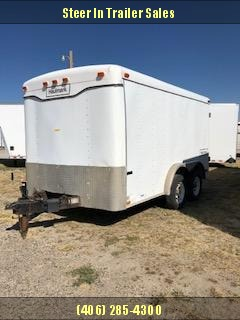 1998 Haulmark 7x12 Enclosed Cargo Trailer