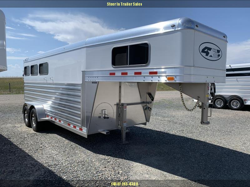2020 4-Star 3H GN Horse Trailer