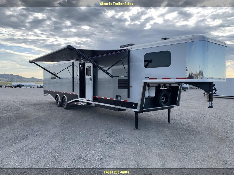 2019 Logan Coach Summit Package Snowmobile Trailer