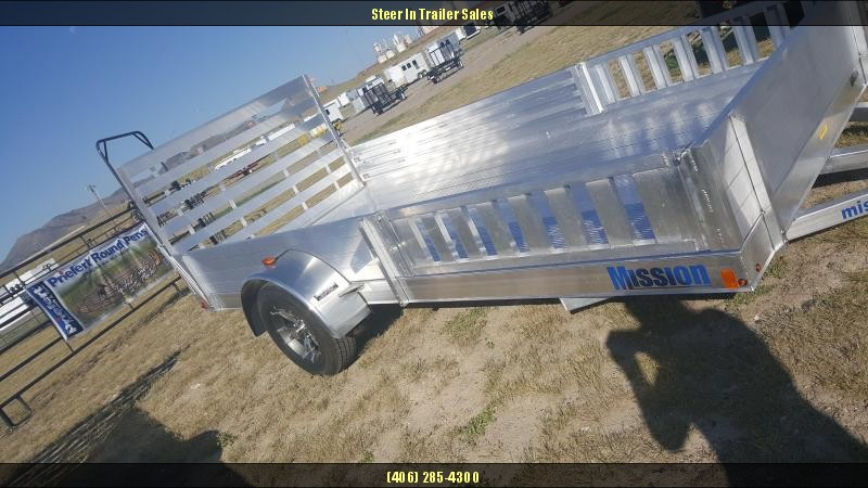 2017 Mission MU 80x14 DL-A ATV Trailer