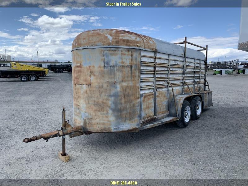 1973 Hale Trailers 16 STOCK Livestock Trailer