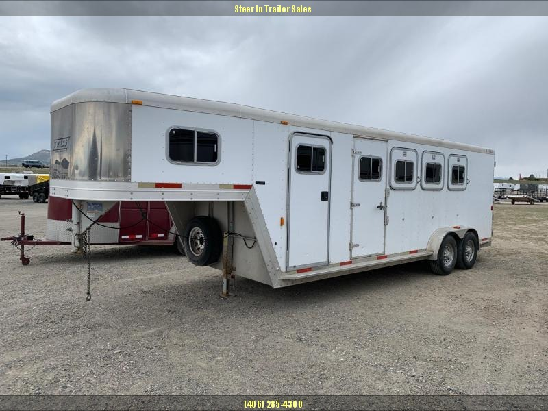 2000 Exiss Trailers 4H GN Horse Trailer
