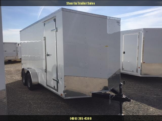 2019 Look 7X16 Enclosed Cargo Trailer