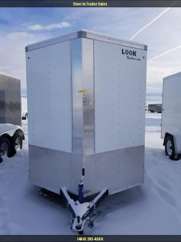 2018 Look EWLC6X12SI2 Flat Top Enclosed Cargo Trailer