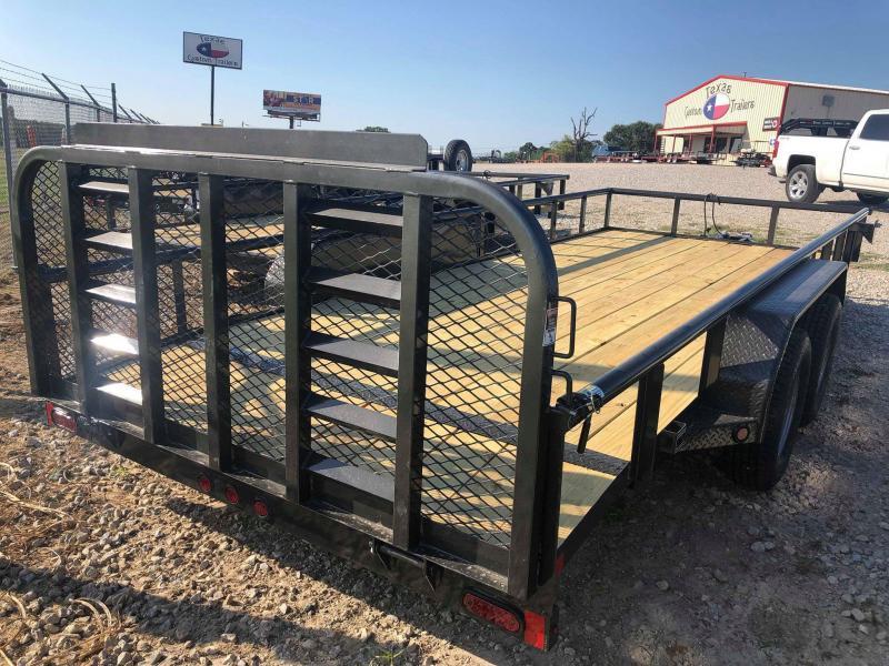 "2020 East Texas 83""x18' 7K Utility Trailer"
