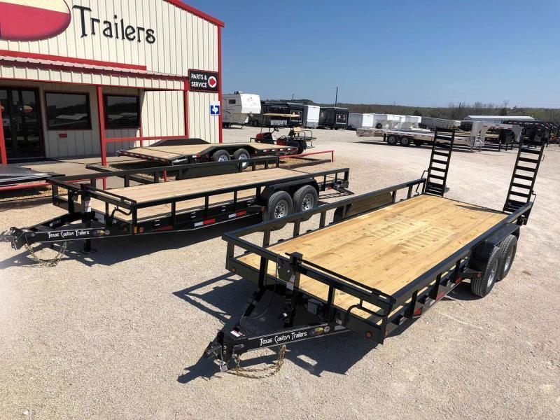2019 East Texas 83X20 Utility 14K Trailer