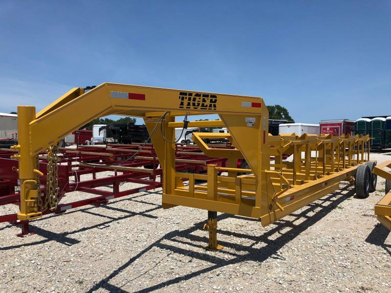 2019 Tiger Trailers 25' GN 5 Bale Hay Trailer