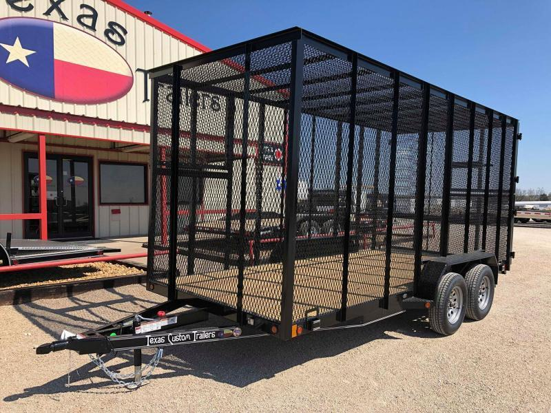 "2020 East Texas 77""X16' 7K Trash Trailer"
