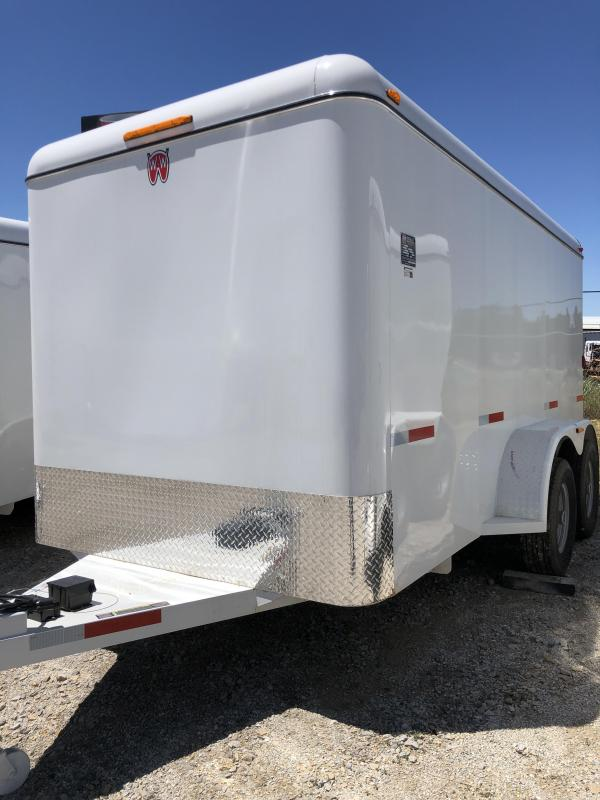 2019 W-W Trailer Cargo Carrier 14X6.8