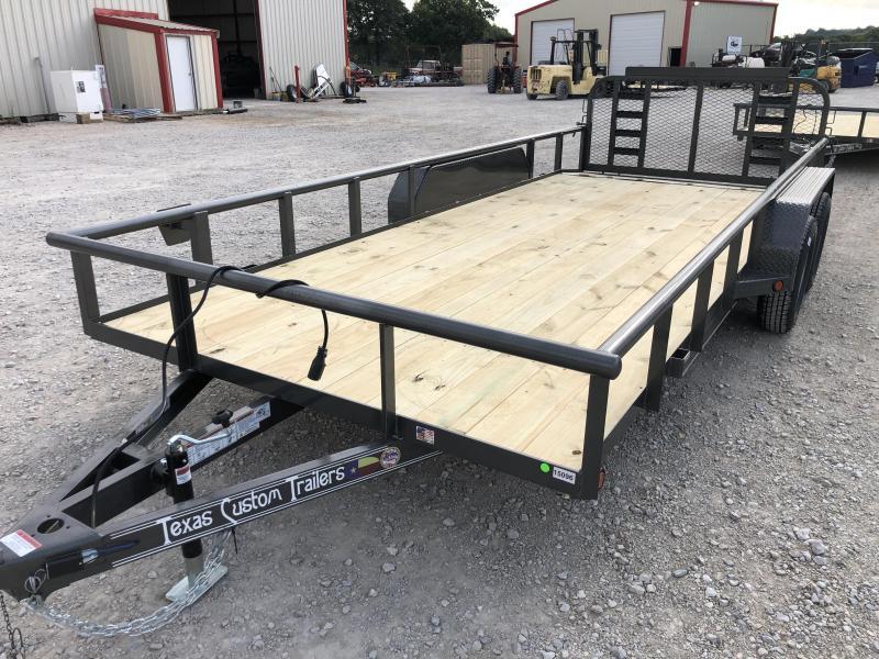 2019 East Texas 83X18 Utility 7K Trailer