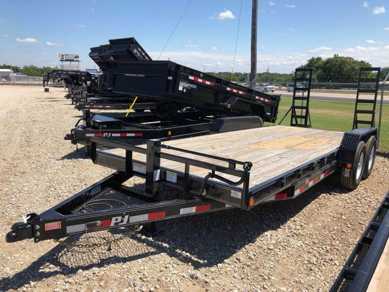 2019 PJ Trailers 20X6 Channel Equipment Trailer