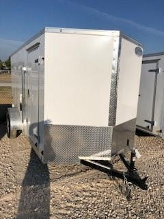 2019  Continental Cargo 6'x12' V-Series Enclosed Cargo Trailer