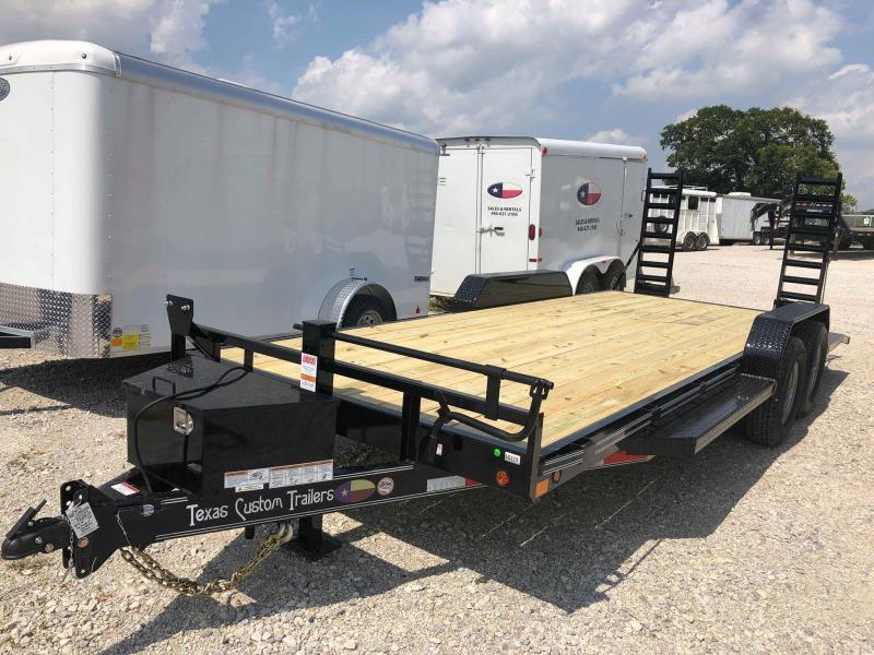 "2019 East Texas 83""x20' 14K Car Hauler/ Equipment Trailer"