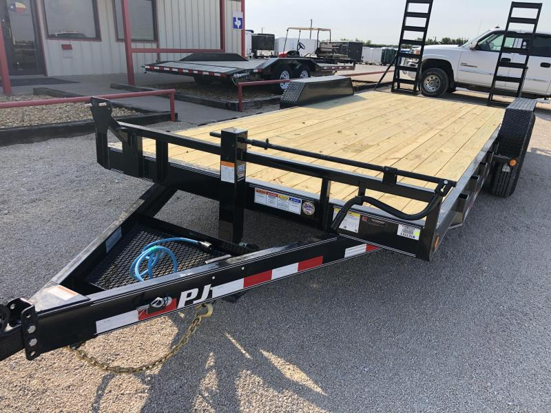 2020 PJ Trailers 20'  6 in. Channel Equipment (CC) Utility Trailer