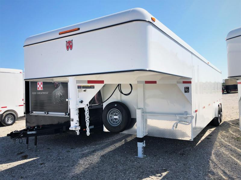 2019 W-W Trailer 24X8 Enclosed Cargo Trailer