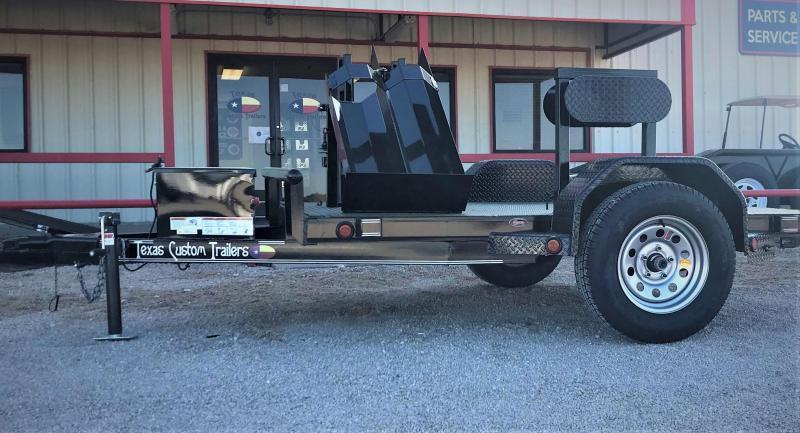 2019 East Texas 5X8 Single Axle Welding Trailer