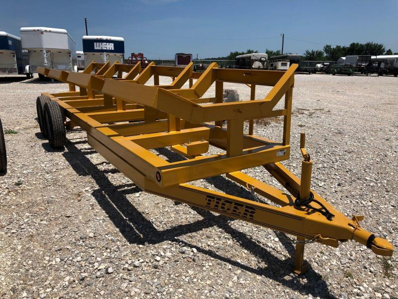 2019 Tiger Trailers 20' 4 Bale Hay Trailer
