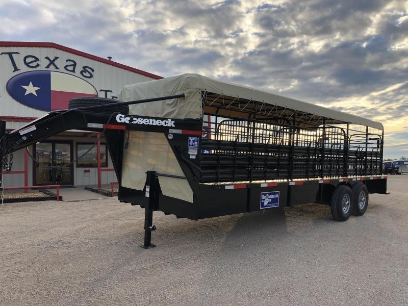 2019 Gooseneck 24X6.8 STS Livestock Trailer