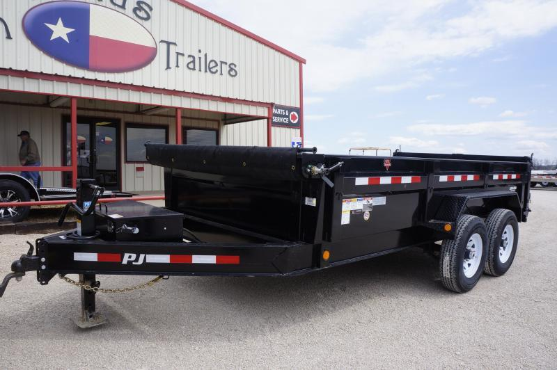 2019 PJ Trailers 14X83 Low Pro Dump Trailer