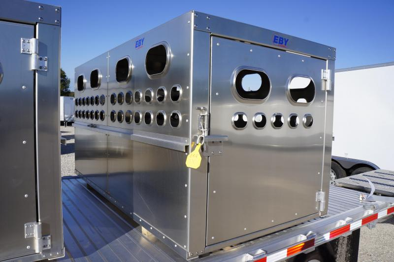 2018 Eby Trailers Livestock Box