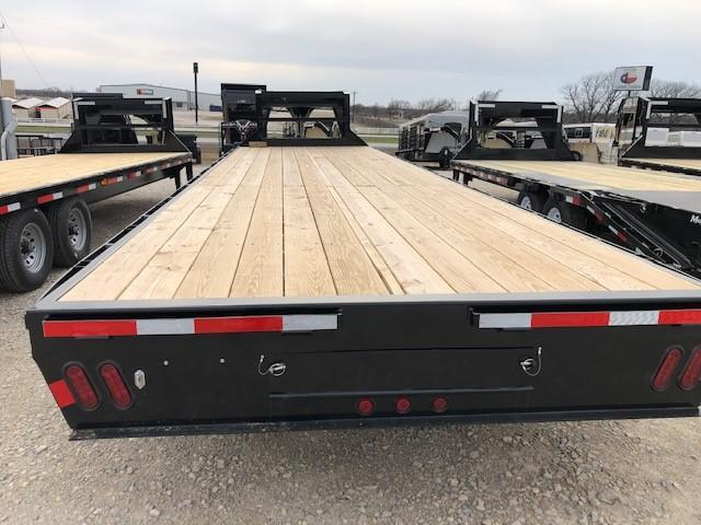 2019 East Texas 102X30 GN HD Deck Over Flatbed Trailer