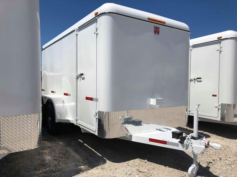 2019 W-W Trailer CC14X6.8 Enclosed Cargo Trailer