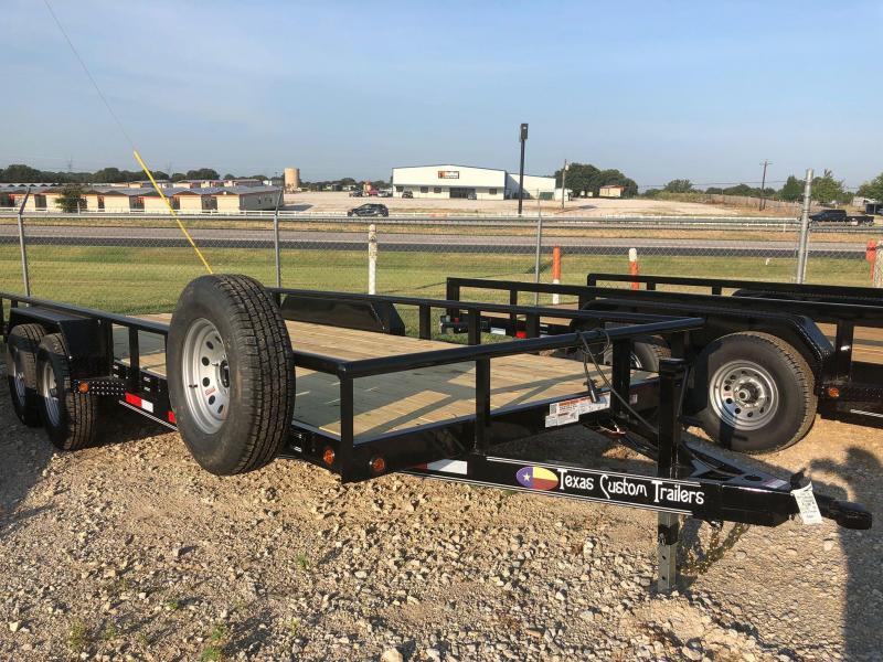 2020 East Texas CS8320062 Utility Trailer