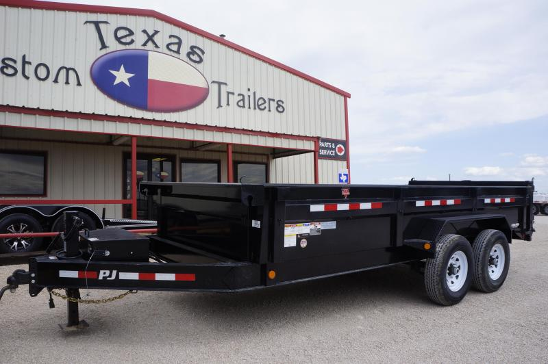 2019 PJ Trailers 16X83 Low Pro Dump Trailer