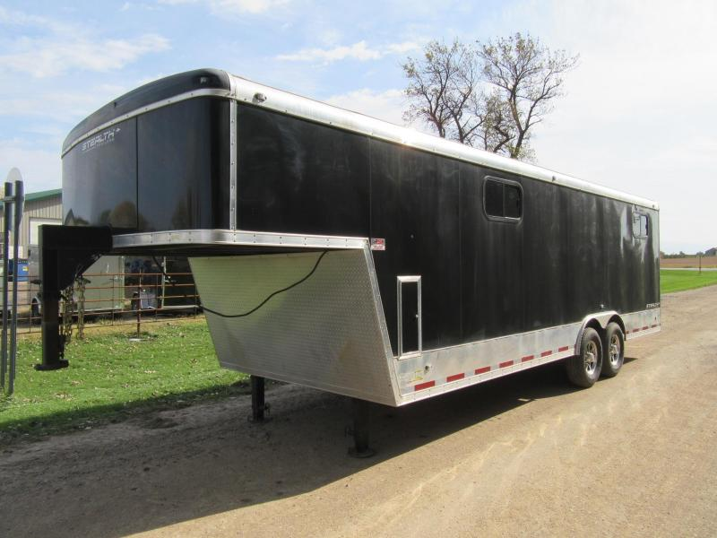 2011 Stealth 8.5'x30' Gooseneck Enclosed Trailer