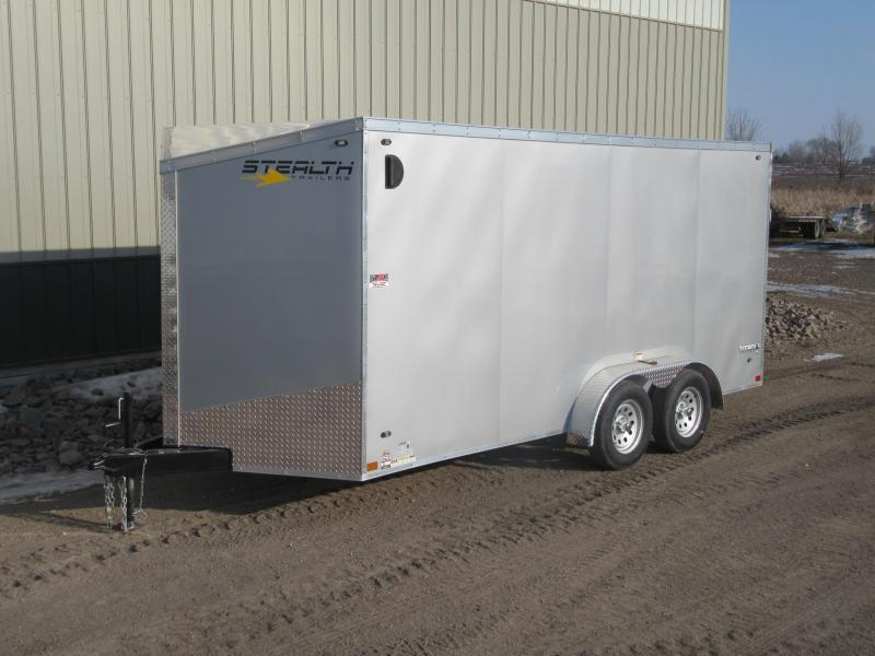 2019 7'x16' Stealth Titan Enclosed Trailer