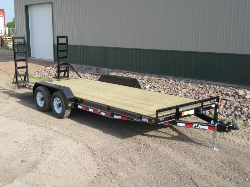 "2019 PJ 20'x5"" Channel Equipment Trailer"