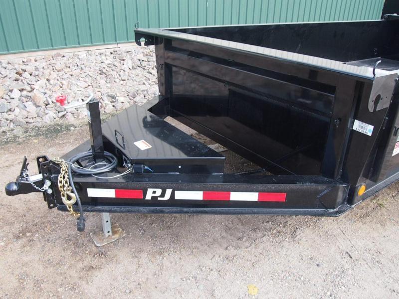"2020 PJ Trailers 14' x 83"" Low Pro Dump Dump Trailer"