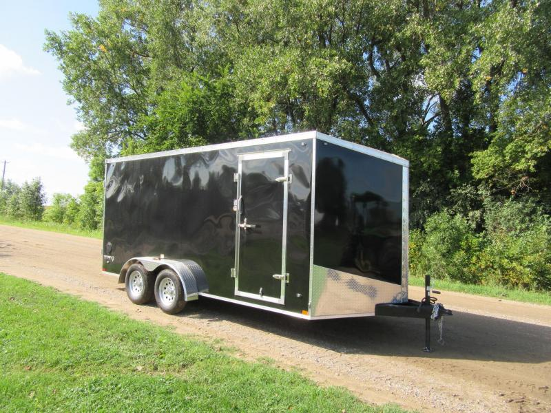 2020 7'x16' Stealth Titan Enclosed Trailer