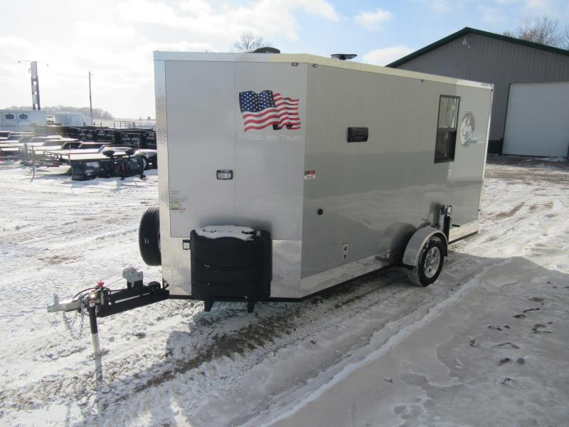 2019 6.5'x14' Polar Crib Igloo - Toyhauler Fish House