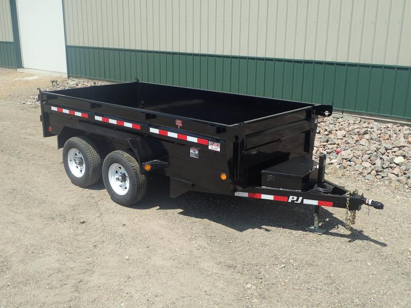 "2020 PJ Trailers 12' x 72"" Medium Duty Dump Dump Trailer"