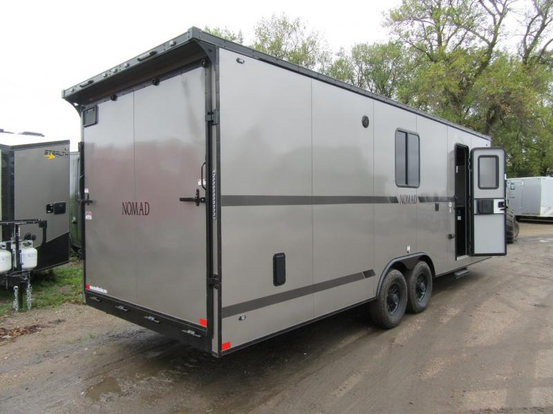 2020 8.5'x24' Stealth Trailers Nomad FK Toy Hauler RV