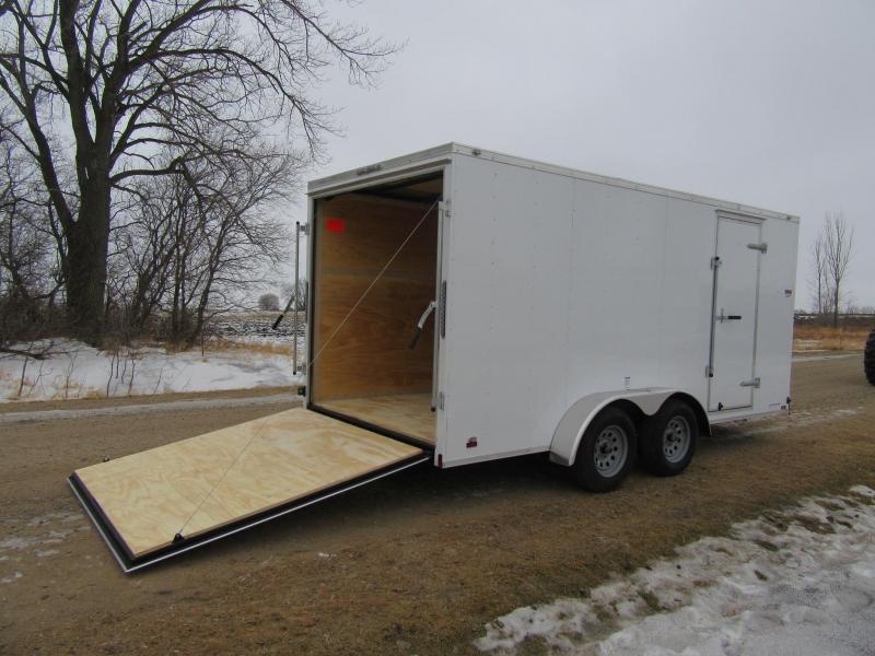 2020 7'x16' Cargo Mate Enclosed Trailer