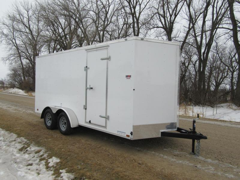 2020 7'x16' Cargo Mate Enclosed Trailer