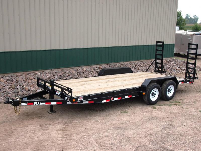 "2020 PJ Trailers 20'x6"" Channel Equipment Trailer"