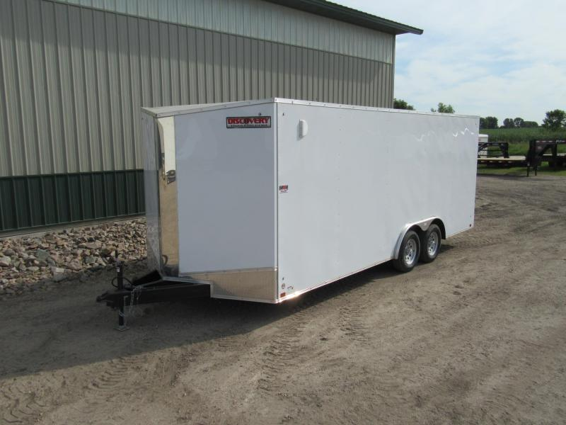 2020 8.5'x20' Discovery Enclosed Trailer