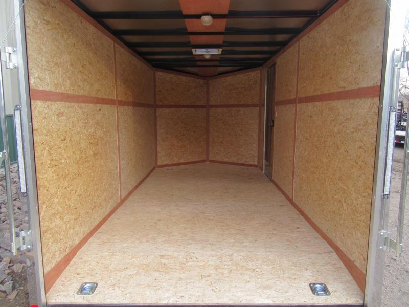 2020 7'x16' Discovery Rover SE Enclosed Trailer