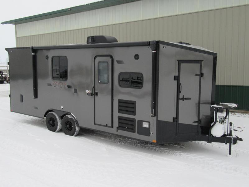 2020 8.5'x22' Stealth Nomad Toyhauler Trailer