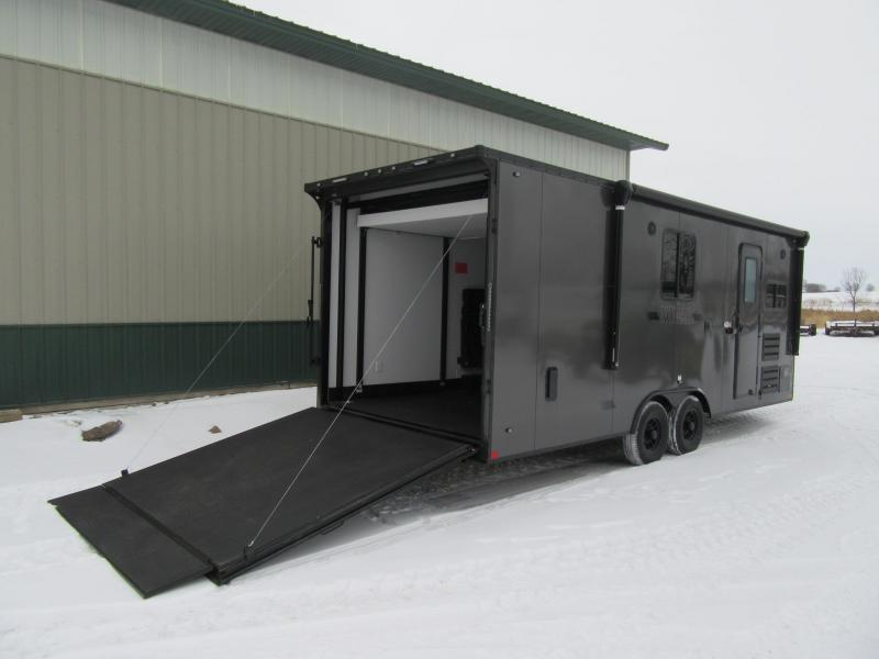 2020 8.5'x24' Stealth Nomad Toyhauler Trailer