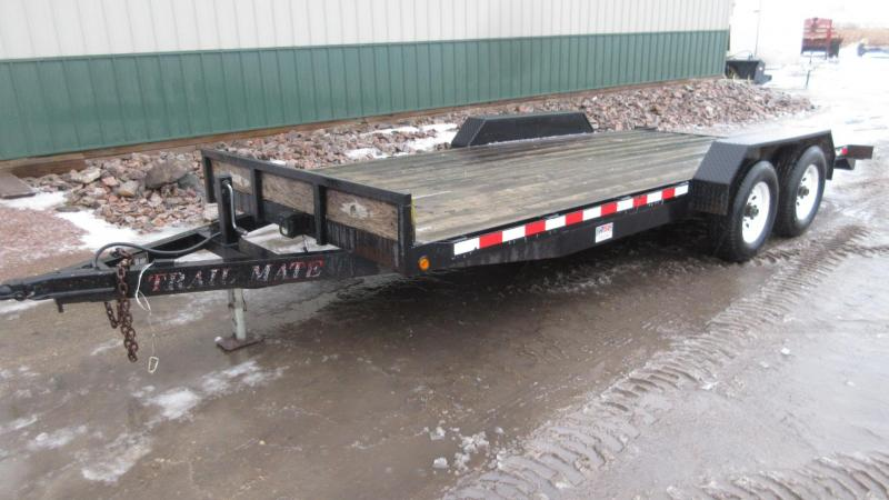 2000 18' TrailMate 10k Equipment Trailer