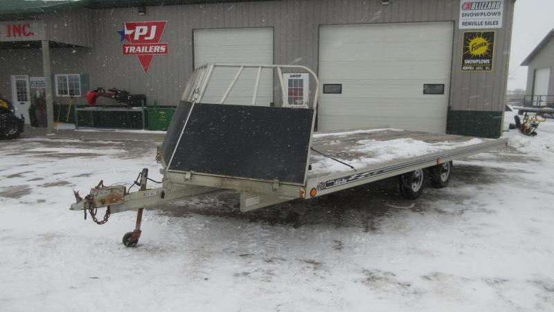 2001 Floe 20' 4-Place Snowmobile Trailer