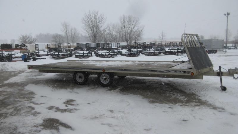 2001 Floe 20' 4-Place Snowmobile Trailer