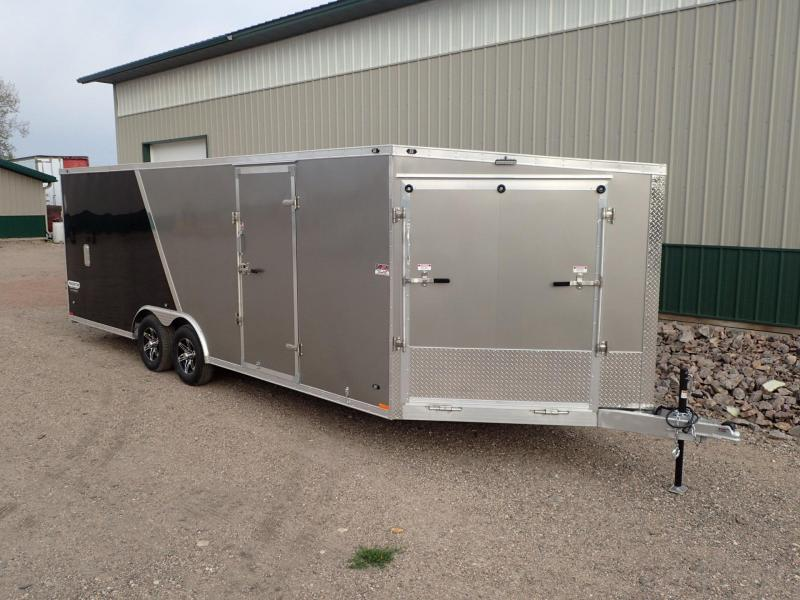 2017 8.5'x27' Stealth Predator Aluminum Snowmobile Trailer