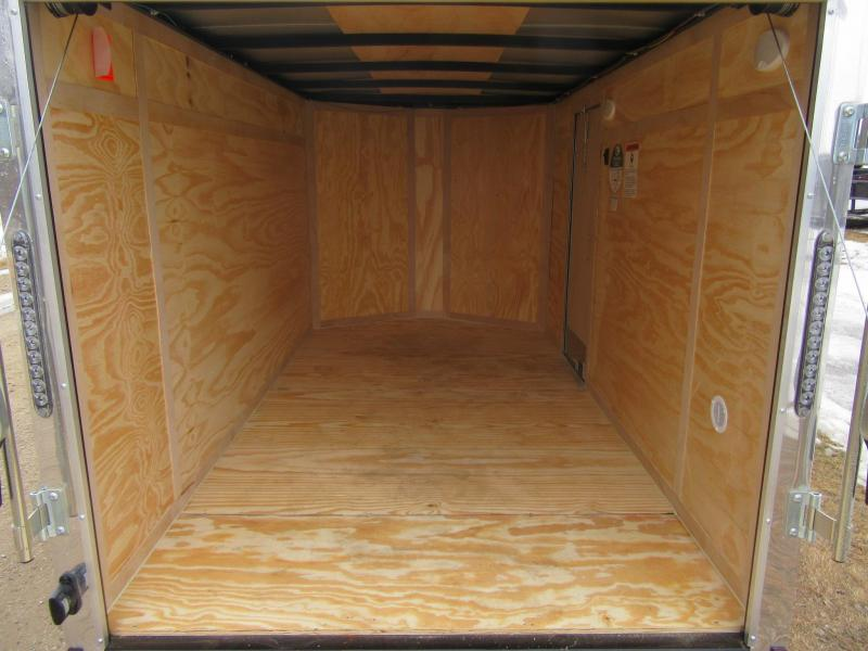 2020 5.5'x10' Cargo Mate Low-Pro Enclosed Trailer