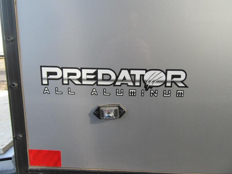 2020 7'x27' Stealth Predator Aluminum Enclosed Snowmobile Trailer